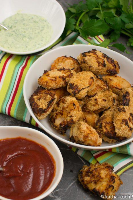 Chicken Nuggets aus dem Backofen