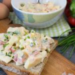 Eiersalat selber machen – die leichte Variante mit Joghurt