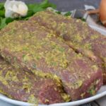 Grillmarinade - Lammrücken in Kräuter-Senf Marinade