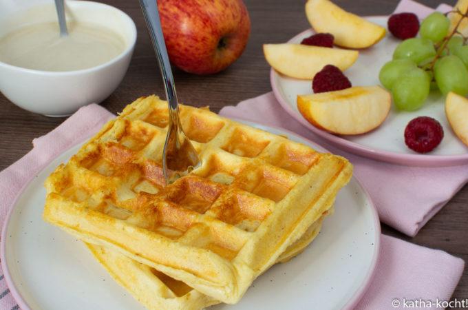 ESN Protein Waffles - Joggen und Protein Waffeln