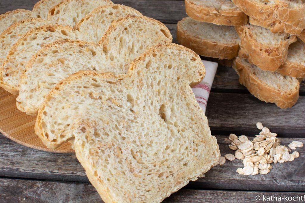 Einkornflocken Toastbrot