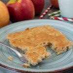 Apfelkuchen vom Blech – ohne Ei