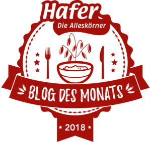 Blog des Monats 2018 Haferdiealleskoerner
