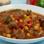 Schmortopf mit Rindfleisch und Merguez