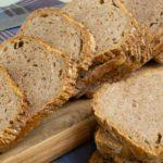 Kleines no-kneat-bread mit sauerteig