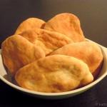 Selbstgemachtes Pita-Brot