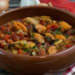 Tapas – Muscheln in Knoblauch-Tomatensauce