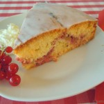 Rhabarber-Johannisbeer Kuchen