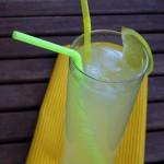 Zitroniger Ananas-Rum Longdrink