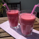 Himbeer-Buttermilch Shake