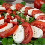 Tomate-Mozzarella wie in San Gimignano