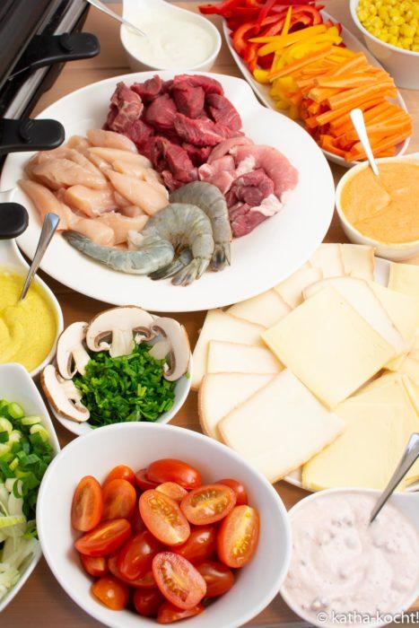 Raclette und was man so braucht