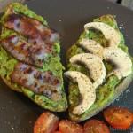 Guacamole auf's Brot