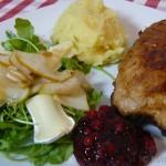 Cordon-Bleu mit Birne und Camembert