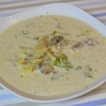 Käse-Wirsingkohl Suppe