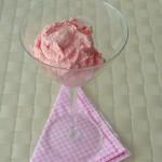 Amaretto-Erdbeereis