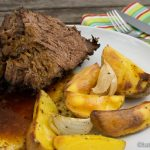 Jamie Oliver's Rinderrippen aus dem Ofen
