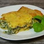 Kürbis-Spinat Lasagne