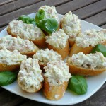 Tapas - Avocado-Krabben Schnittchen