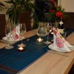 Valentinstag 2014 - ein romatisches 5 Gänge Menü