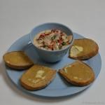 Paprika-Matjes Salat