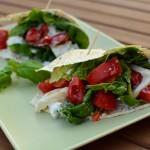 Tomate-Mozzarella Wrap-Tasche