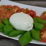 Tomate-Burrata Platte