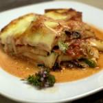 Zucchini-Tomaten Lasagne