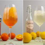 Spritz Drinks - Aperol Spritz und Limoncello Spritz
