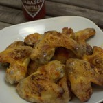 Feurig scharfe Chicken Wings