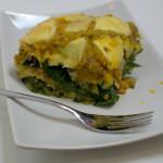 Mangold-Kürbis Lasagne für Katrin