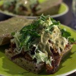 gänsesandwich im asia-style - frei nach jamie oliver