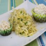 Blutwurst Cupcakes mit Sauerkraut Frosting