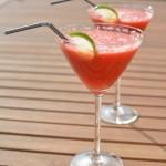 2-Minuten Wodka Melone Drink