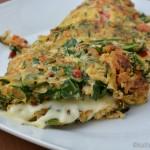 Rucola Omelett
