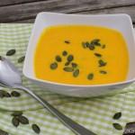 Kürbis Käse Suppe