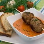 Tomatensuppe mit Sherry und Estragon