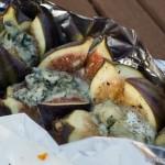 Gorgonzola Feigen vom Grill