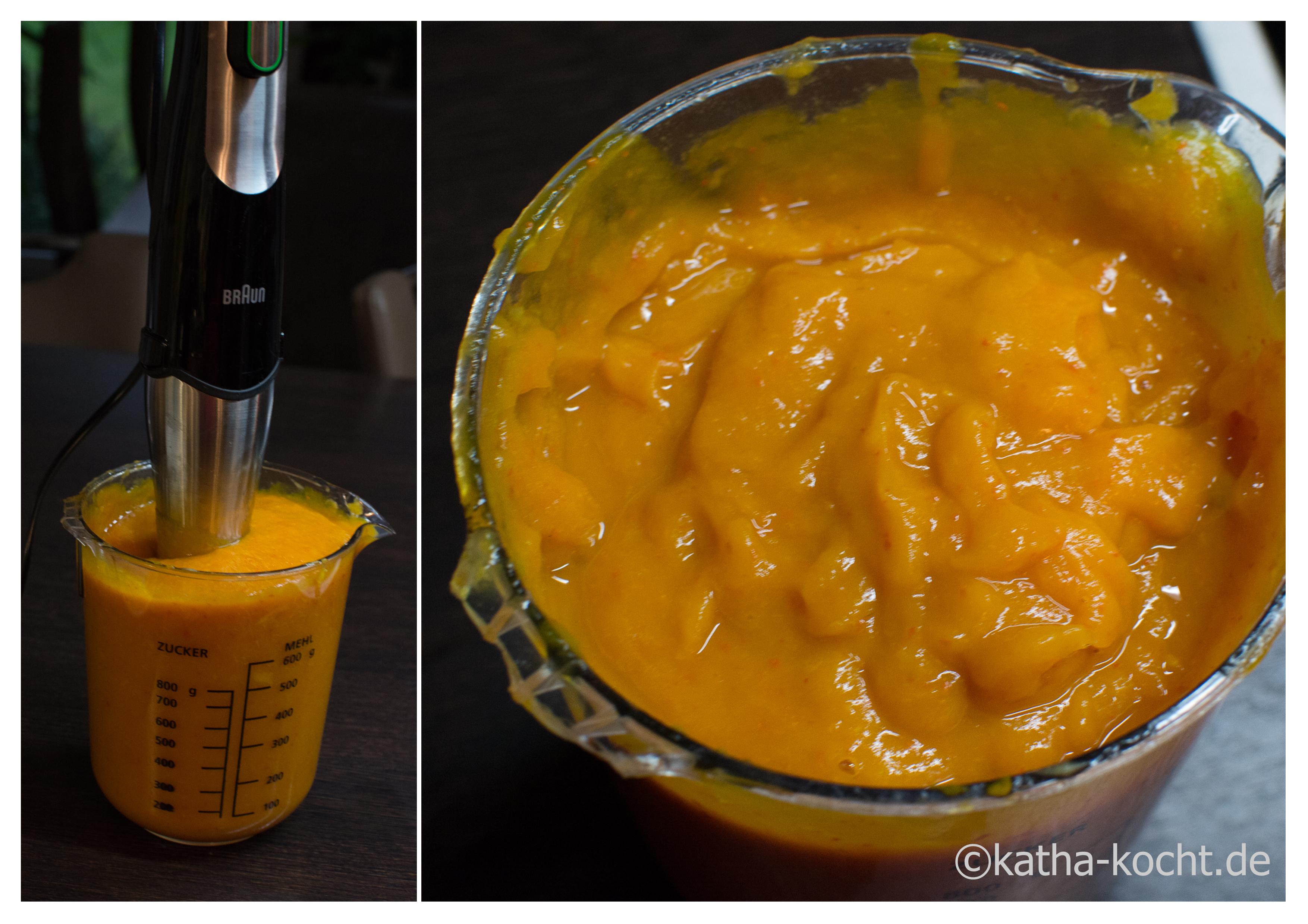 Rezept kurbis mit mango