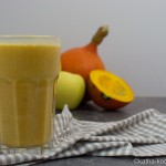 Kürbis-Buttermilch Drink mit Zimt