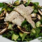 Winterlicher Salat mit Skrei