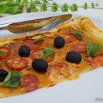 Blätterteigpizza für Tomatenfans