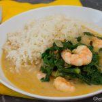 Garnelen Curry mit Mangold