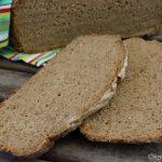 Roggenschrot Brot aus dem Topf