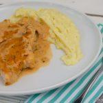 Rotbarsch in Tomaten-Mascarpone Sauce