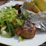 Schweinefilet mit Senf-Paprika Marinade vom Grill