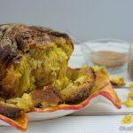 Kürbis Pull-Apart-Bread mit Zucker und Pumpkin Pie Spice