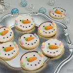 Frosty Plätzchen - Schneemann Plätzchen