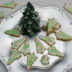 Weihnachtsgebäck – Matcha-Kokos Plätzchen