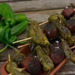 Tapas – Chorizo-Pimentos Spieße